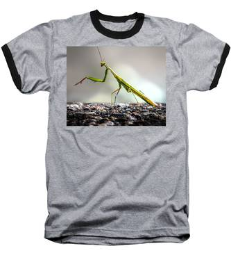 Praying Mantis  Baseball T-Shirt