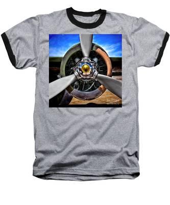 Propeller Art   Baseball T-Shirt