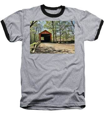 Baseball T-Shirt featuring the photograph Protected Crossing In Spring by Andrea Platt