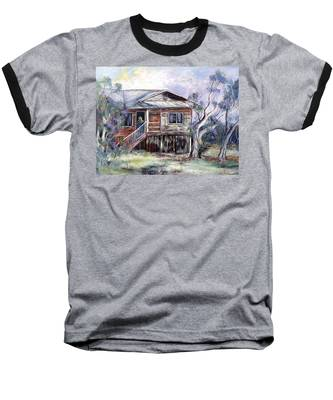 Queenslander Style House, Cloncurry. Baseball T-Shirt
