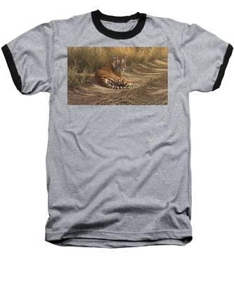 Ranthambore Roadblock Baseball T-Shirt
