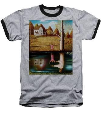 Reflection Of Protection. Baseball T-Shirt