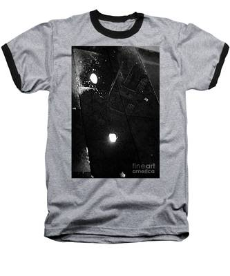 Reflection Of Wet Street Baseball T-Shirt
