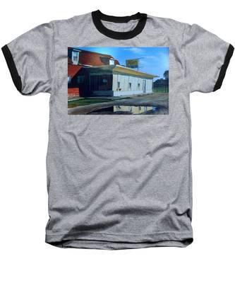 Reflections Of A Diner Baseball T-Shirt