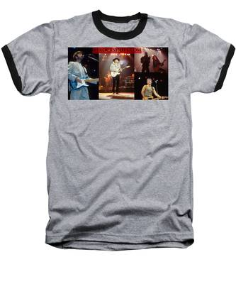 Rfrockshots.com Baseball T-Shirt by Rich Fuscia