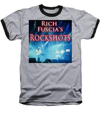 Rich Fuscia's Rockshots Baseball T-Shirt by Rich Fuscia