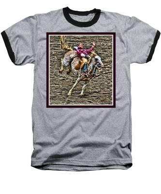 Ride Em Cowboy Baseball T-Shirt