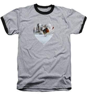 Robin Redbreast Baseball T-Shirt