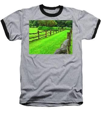 Rolling Rock Bridle Trail 2 Baseball T-Shirt