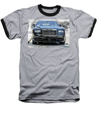Rolls - Royce Wraith Coupe 2016 Baseball T-Shirt