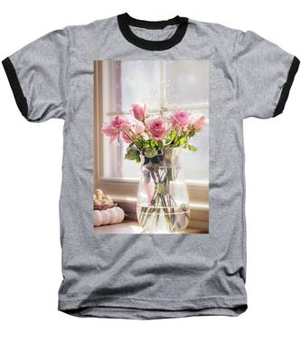 Roses In The Kitchen Baseball T-Shirt
