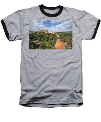 Roussilon Provence  Baseball T-Shirt by Juergen Held