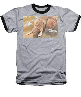 Scatter Baseball T-Shirt