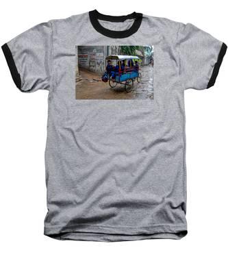 School Cart Baseball T-Shirt