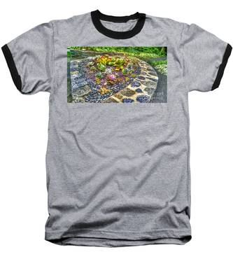 Sensory Garden At Laurelwood Arboretum Baseball T-Shirt