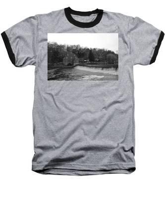 Shadows On The Mill In Clinton Baseball T-Shirt