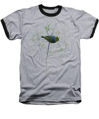 Silvereye Baseball T-Shirt