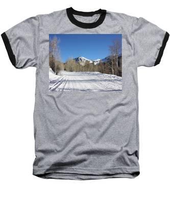 Snowy Aspen Baseball T-Shirt