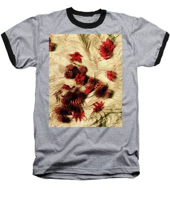 Spiked Nuts Red Baseball T-Shirt