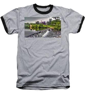 Spillway At Grace Lord Park, Boonton Nj Baseball T-Shirt