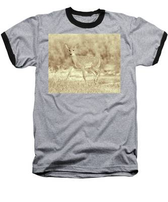 Spotted Fawn Baseball T-Shirt