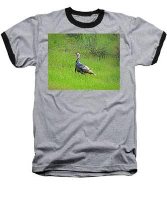 Spring Turkey Gobbler Baseball T-Shirt