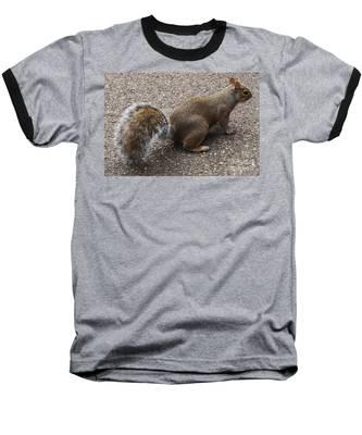 Squirrel Side Baseball T-Shirt