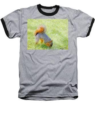 Squirrelly Baseball T-Shirt