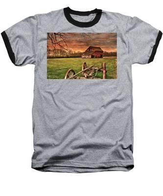 Baseball T-Shirt featuring the photograph Still Standing by Andrea Platt