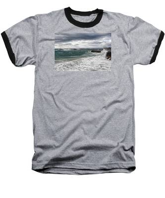 Stormy Day On Redondo Baseball T-Shirt
