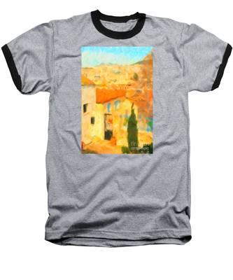 Summer In Athens Baseball T-Shirt