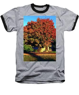 Sun-shining Autumn Baseball T-Shirt