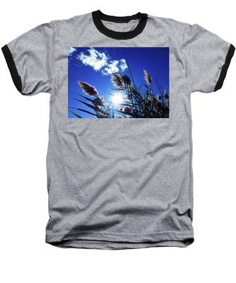 Sunburst Reeds Baseball T-Shirt