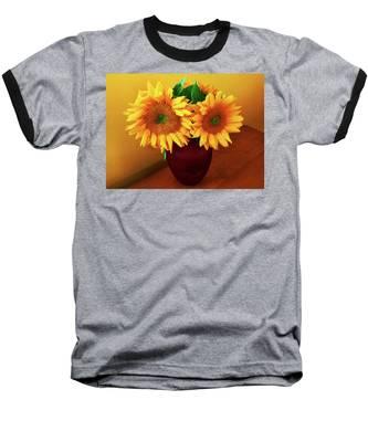 Sunflower Corner Baseball T-Shirt