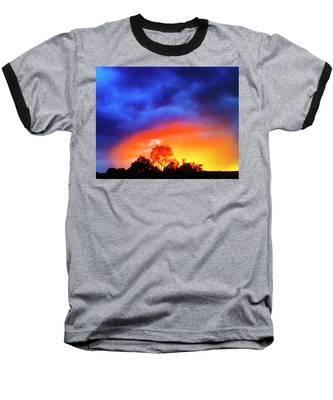 Sunset Extraordinaire Baseball T-Shirt