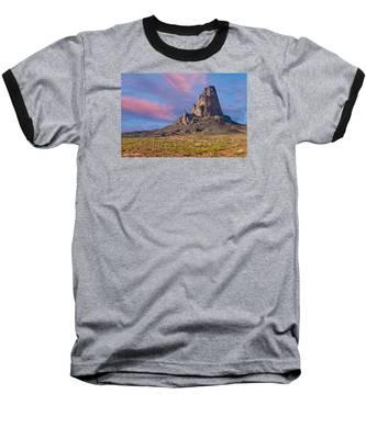 Sunset On Agathla Peak Baseball T-Shirt