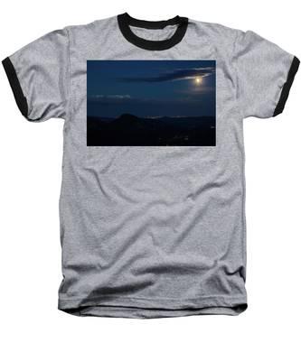 Super Moon Eclipse Baseball T-Shirt