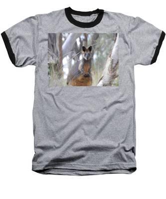 Swamp Wallaby Baseball T-Shirt