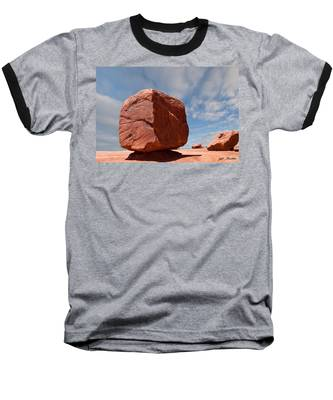 The Cube At Monument Valley Baseball T-Shirt