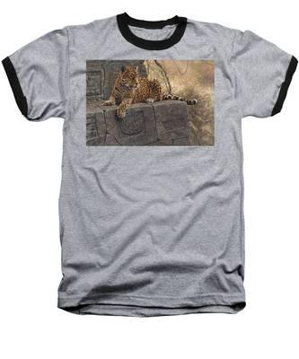 The Jaguar King Baseball T-Shirt