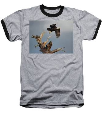 Baseball T-Shirt featuring the photograph the Mighty Ozzie. by Evelyn Garcia