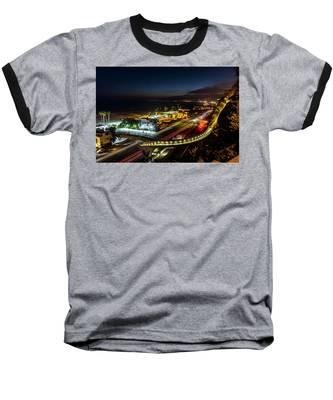 The New P C H Overpass - Night Baseball T-Shirt