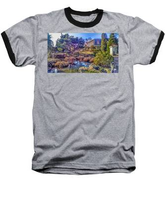 The Pond At Peddler's Village Baseball T-Shirt