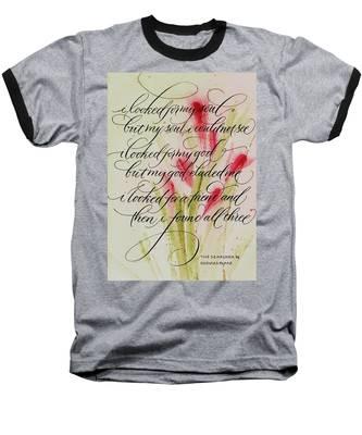 The Searcher By Thomas Blake Baseball T-Shirt