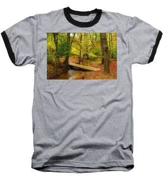 There Is Peace - Allaire State Park Baseball T-Shirt