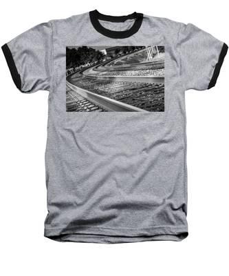 Tracks Through Historic Buford Baseball T-Shirt