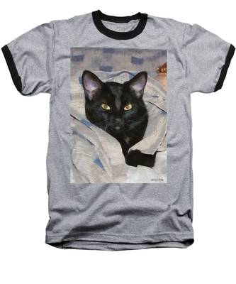 Undercover Kitten Baseball T-Shirt