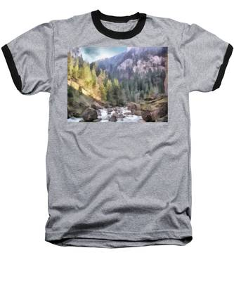 Valley Of Light And Shadow Baseball T-Shirt