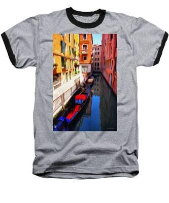 Venetian Canal Baseball T-Shirt