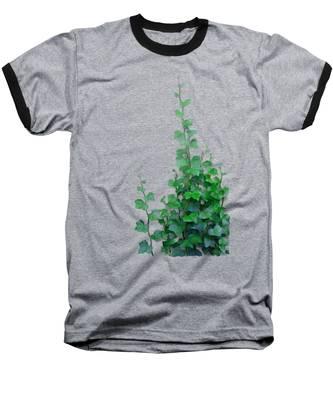 Vines By The Wall Baseball T-Shirt